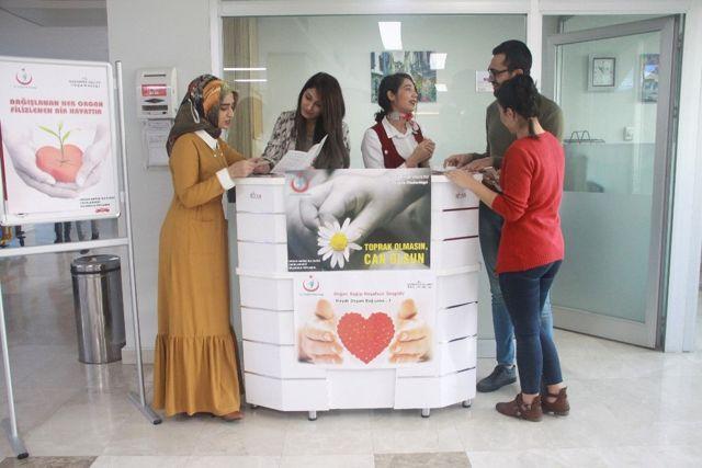 Anka Organ Bağışına Dikkat Çekti