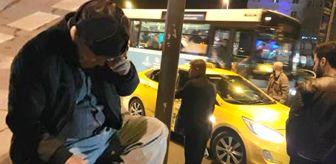 Taksici, Tartıştığı Kanser Hastası Turisti Darp Etti