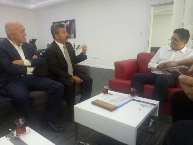 Başkan Ufuk Aksoy: Pazarlar Küçük Sanayi Sitesi Yerel Seçimlere Yetişecek