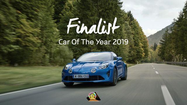 Alpine A110 2019 Yılın Otomobili