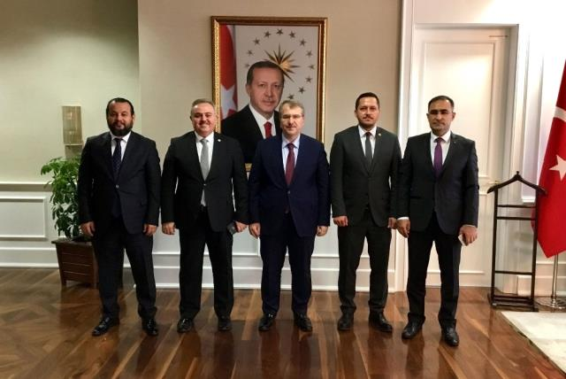 Karaman Heyeti, Tıp Fakültesi İçin Ankara'da Görüşmelerde Bulundu