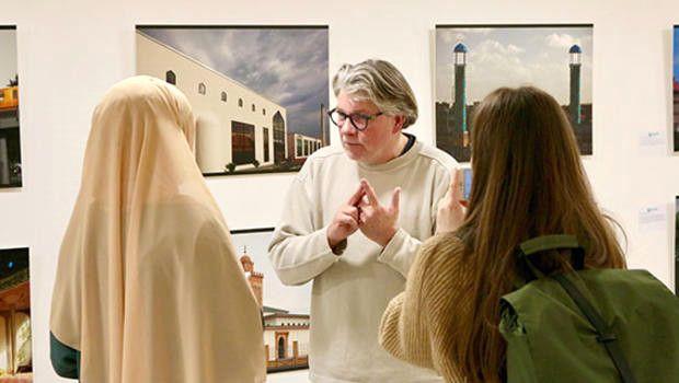 Almanya'da, 'Batı'da İslam Mimarisi' Sergisi