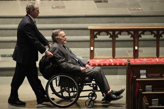 Eski Başkanlardan Bush Ailesine Taziye Mesajı