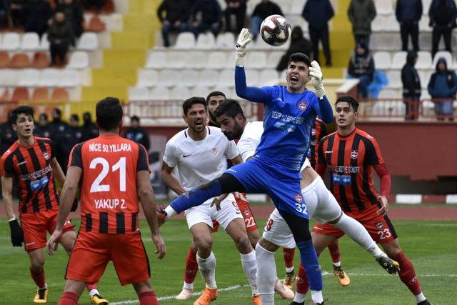 Tff 2. Lig: Gümüşhanespor: 1 - Gaziantepspor: 0