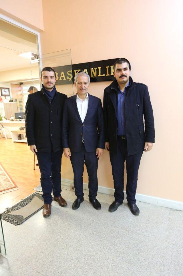 BBP'li Yıldırım'dan Başkan Dişli'ye Ziyaret
