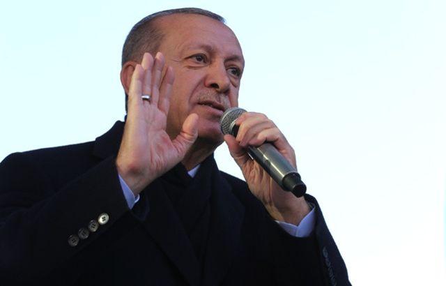 Cumhurbaşkanı Erdoğan, Üsküdar'da halka sesleniyor