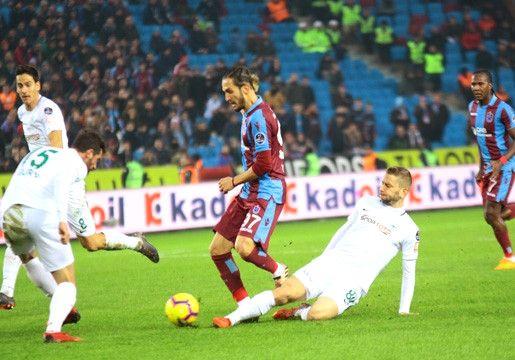 Trabzon'da İlk Yarı Gol Yok