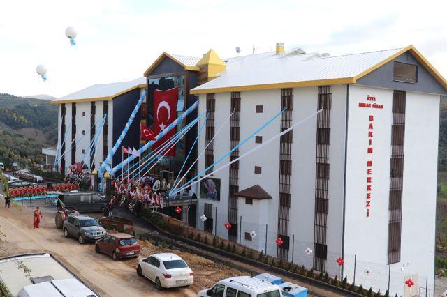 Ülkenin En Büyük Engelli Yatılı Bakım Merkezi Açıldı