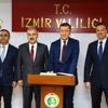 Milli Eğitim Bakanı Ziya Selçuk İzmir'de