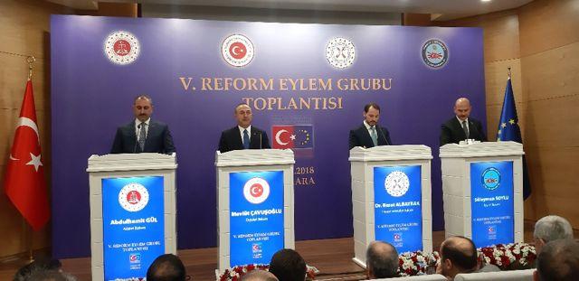 Reform Eylem Grubu Bildirisi Yayımlandı