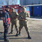Askerlere Yangın Eğitimi
