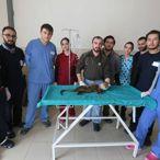 Bacağı Kırık Su Samurunu Kutuyla Hastane Önüne Bırakmışlar