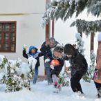 Çorum'da Eğitime Kar Engeli
