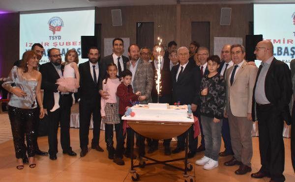Tsyd İzmir Şubesi, 2018'e Çeşme'de Veda Etti