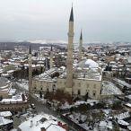 Edirne'de Kar Yağışı