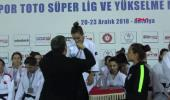 Spor Spor Toto Judo Süper Lig'de Galatasaray'dan Çifte Şampiyonluk