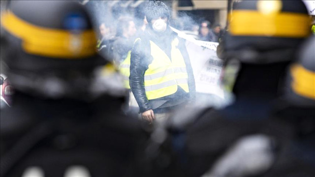 Fransadaki gösteriler nedeniyle 43 bin kişi işsiz kaldı 55