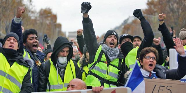 Fransadaki gösteriler nedeniyle 43 bin kişi işsiz kaldı 29