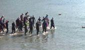 Kış Ortasında Açık Su Yüzme Yarışı