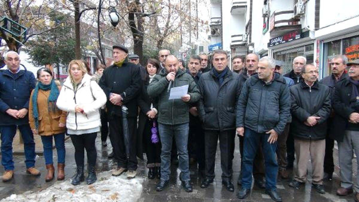 Tunceli'de CHP'lilerden 'Elektrik' Protestosu