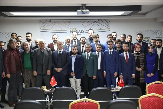 Elazığ'da Genç Müsiad'ın Başkanı Ahmet Demir Oldu