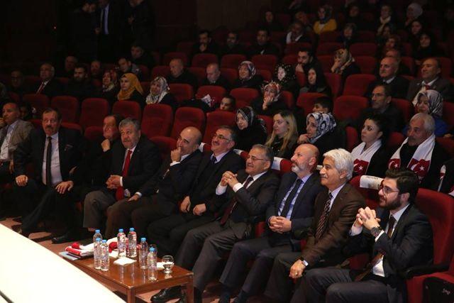 Başkan Büyükkılıç Sarıkamış Şehitlerini Anma Programında