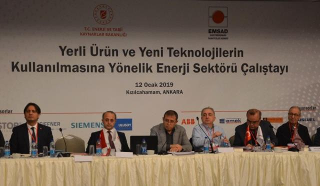 Enerji ve Tabii Kaynaklar Bakanlığı ve Emsad'dan Çalıştay