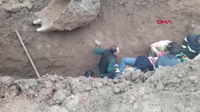 Mardin Kanalizasyon Kazısında Toprak Altında Kalan İşçi Öldü