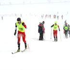 Bitlis'teki Kayaklı Koşu Eleme Yarışması