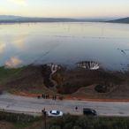 İzmir'de Şiddetli Yağışla Düden Oluşması