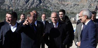 Bakan Turhan, İzmir ve Antalya'yı birbirine bağlayacak projeyi açıkladı
