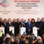 TBMM Başkanı Yıldırım ile Ulaştırma ve Altyapı Bakanı Turhan, Çanakkale'de