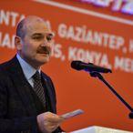 İçişleri Bakanı Süleyman Soylu Gaziantep'te