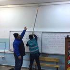 Çarşamba'da Yükümlüler Okul Tadilatı Gerçekleştiriyor