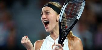 Avustralya Açık'ta Kvitova, 5 Yıl Sonra Finale Yükseldi