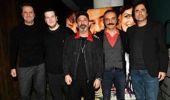 Türk Sinemasının Usta İsimleri, Yılmaz Erdoğan'ı Organize İşler Sazan Sarmalı Filminin Özel Gösteriminde Yalnız Bırakmadı