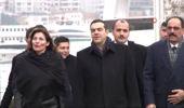 Binali Yıldırım, Yunanistan Başbakanı Alexis Çipras ile Bir Araya Geldi