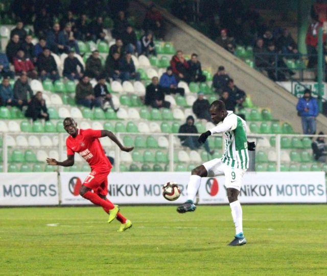 Spor Toto 1. Lig: Giresunspor: 1 - Ümraniyespor: 1