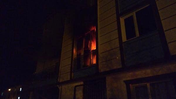 İnegöl'de Binada Yangın Paniği