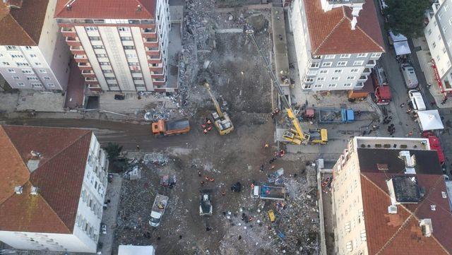 Kartal'da Çöken Bina İçin Ön İnceleme Raporu: Yıkanmamış Deniz Kumu Kullanıldı