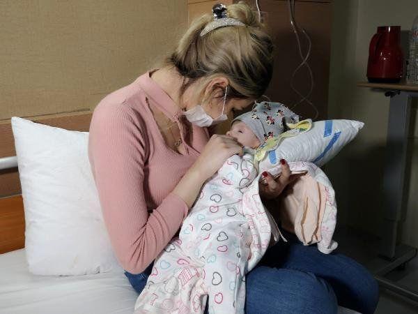 4 Aylık Bebekten 'Böbrek' Büyüklüğünde Tümör Çıktı