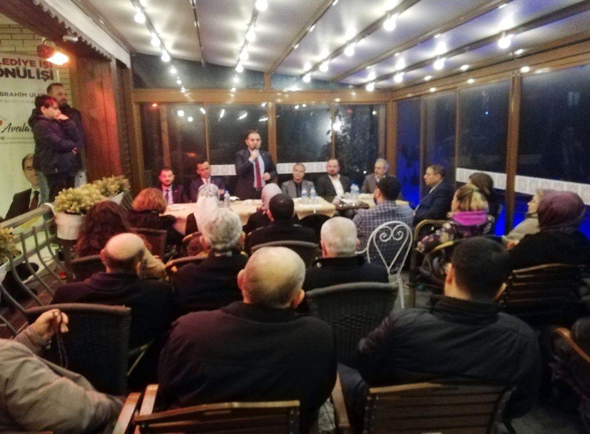 AK Parti Avcılar Belediye Başkan Adayı Dr. İbrahim Ulusoy: