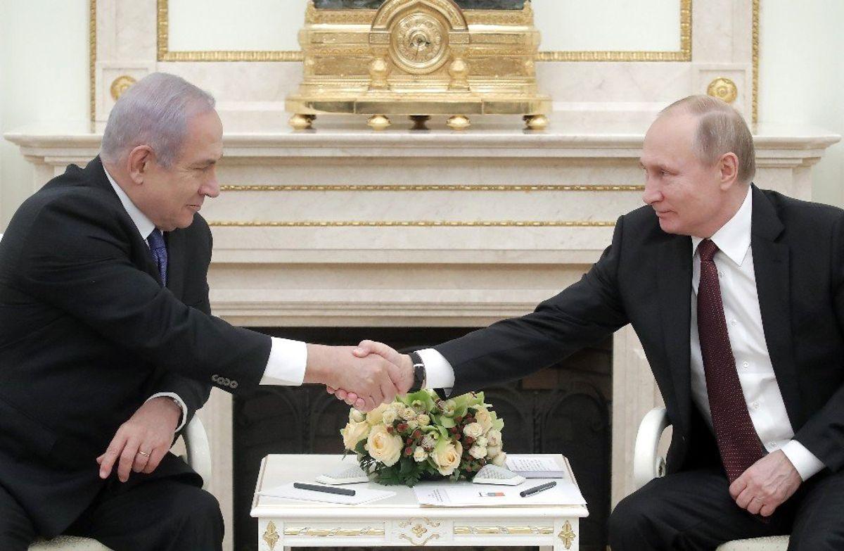Rusya ile İsrail Arasındaki Kriz Çözüldü