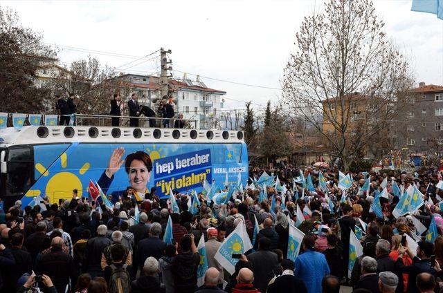İyi Parti Genel Başkanı Akşener Tokat'ta