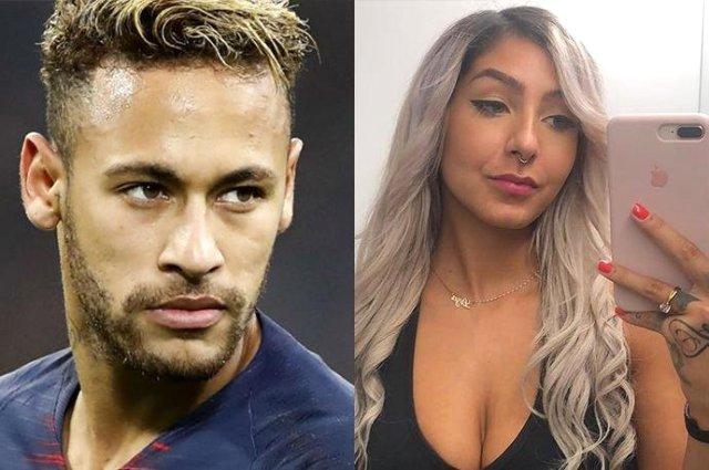 Məşhur model Neymar ilə keçirdiyi gecədən danışdı — FOTOLAR