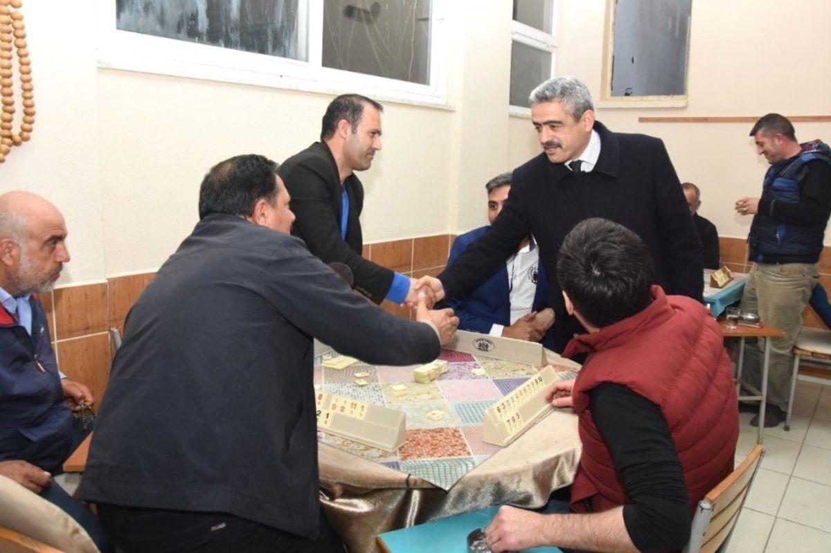 Başkan Alıcık Yeşilyurt ve Muammer Aksoy Mahallelerini Ziyaret Etti
