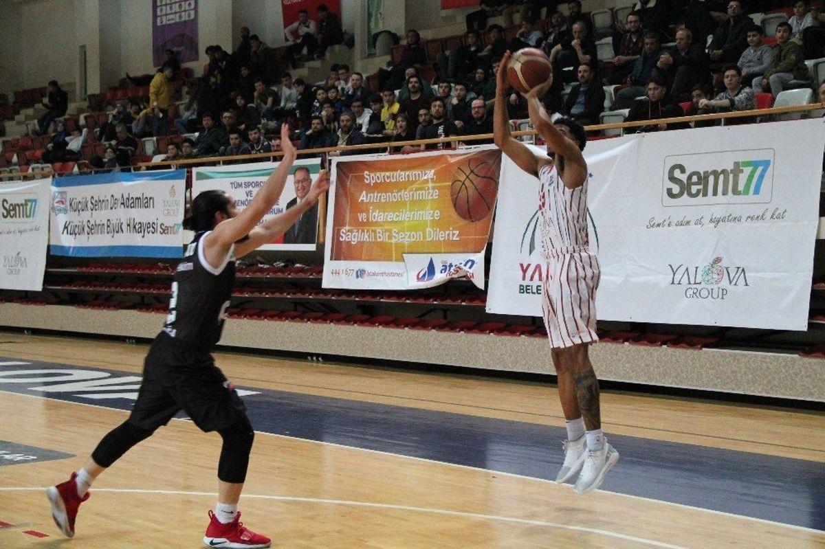 Türkiye Basketbol Ligi: Semt77 Yalova Belediyespor: 87 - Petkimspor: 79