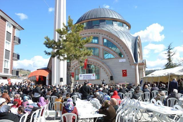 Havza'da Yenimescit Camisi İbadete Açıldı
