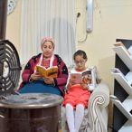 Kitap Kurdu Köy Çocuklarının Evine Kütüphane