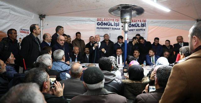 Başkan Sekmen: 'Ortak Hedefimize Birlikte Yürüyeceğiz'